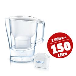 Aluna XL Filtreli Sürahi- Beyaz ,3,5 lt - Thumbnail